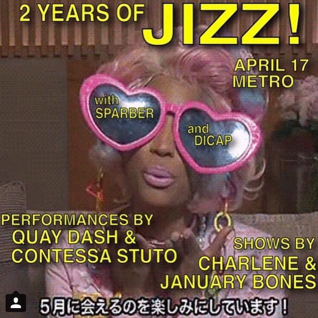 Performing JIZZ 04.17.15