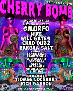 #CHERRYBOMB MAY 16TH