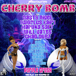 #CHERRYBOMB MAY 9TH