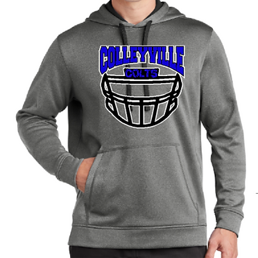 CMS Football Dri Fit Fleece Hoodie