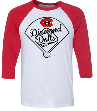CHHS Diamond Dolls Unisex Raglan