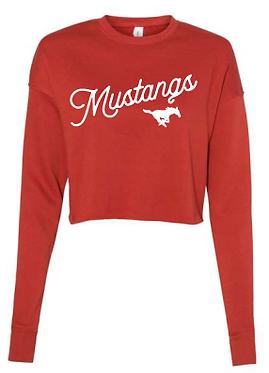 GHS Cheer Crop Sweatshirt