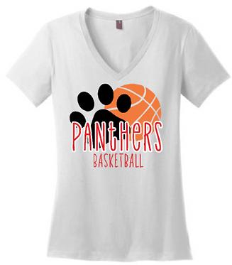 CHHS Basketball V-Neck Paw