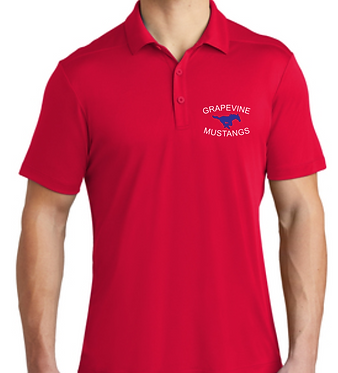 GHS Cheer Dad's Dri Fit Polo