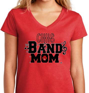 CHHS Band Mom V Neck
