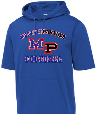 MP Football Short Sleeve Hoodie