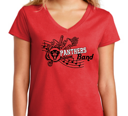 CHHS Band Notes Ladies V Neck