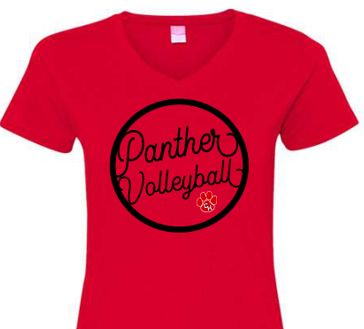 CHHS CHVB Panther Volleyball V-Neck