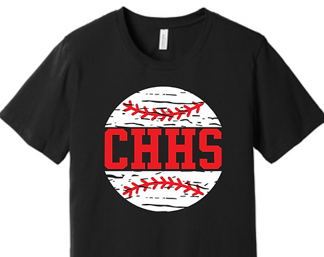 CHHS Baseball Distressed Tee
