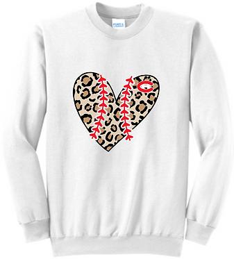 CHHS Baseball  Ladies Sweatshirt