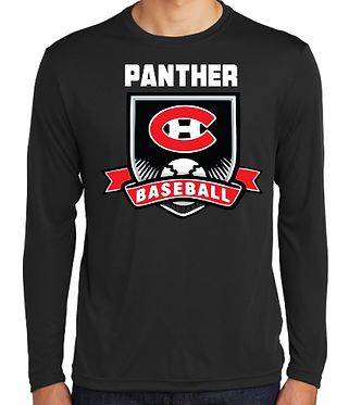 CHHS Baseball Crest Dri Fit Long Sleeve
