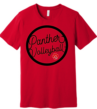 CHHS CHVB Panther Volleyball Tee