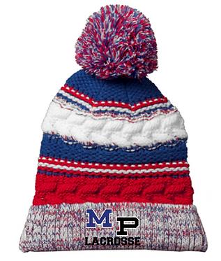 MP Lacrosse Knit Pom Beanie