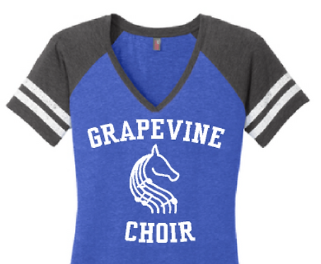 GHS Choir Vintage V Neck