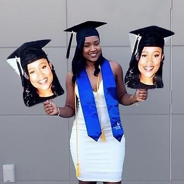 Graduation Fat Heads