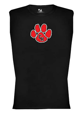 CHHS AW Paw Dri Fit Muscle Tank