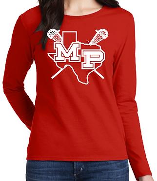MP LAX Ladies Long Sleeve T-Shirt