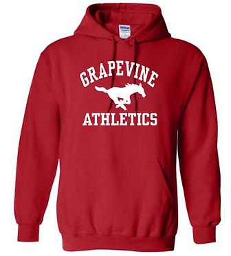 GMS Athletics Red Hoodie