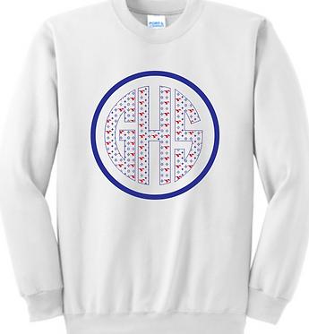 GHS Cheer Unisex Monogram Sweatshirt