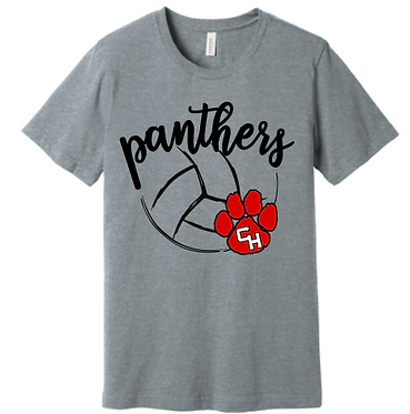 CHHS CHVB Panthers with Paw