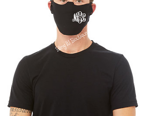 Monogrammed Face Mask/Guard