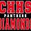 """Thumbnail: CHHS Stadium Chair 15.5"""" Wide"""