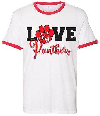 CHHS Baseball Ringer Love Panthers