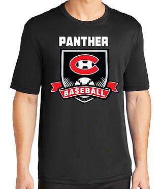 CHHS Baseball Crest Dri Fit Short Sleeve