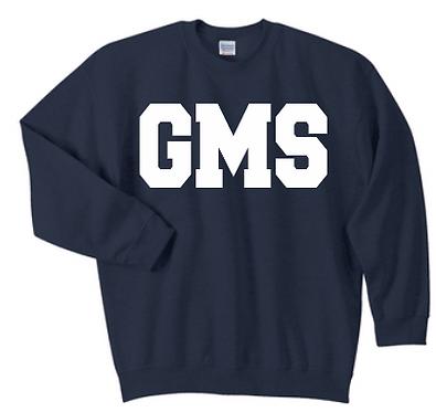 GMS Navy Spirit Wear Sweatshirt