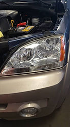Headlight clean (after)