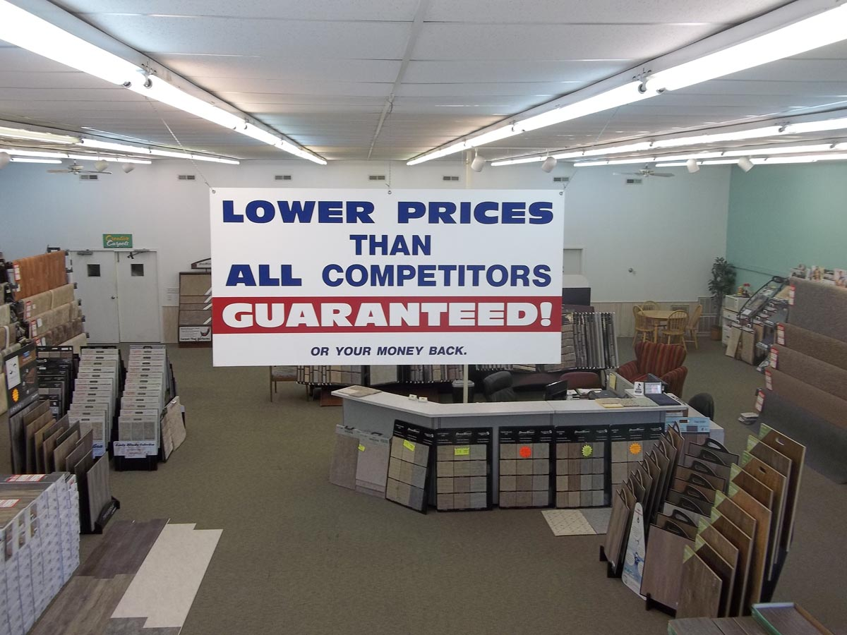 lower prices than all competitors!