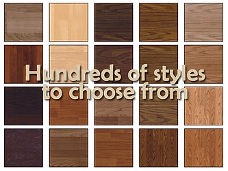 hundred styles to choose from
