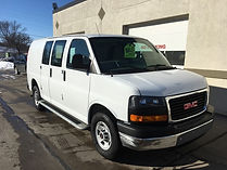 2017 GMC Cargo Van 3/4 ton Long Box