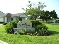 Creekside Townhomes Sign