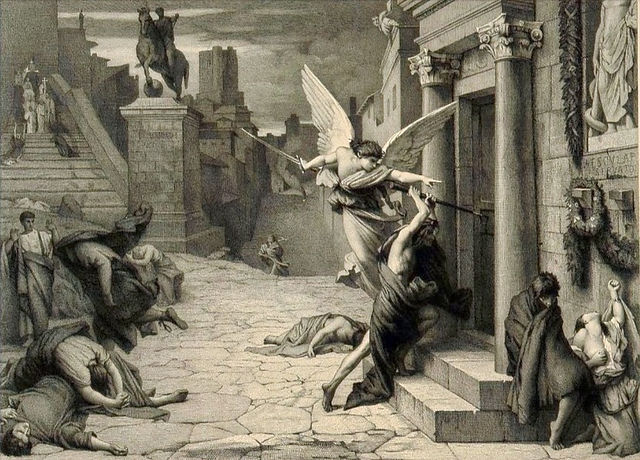 The_angel_of_death_striking_a_door_durin