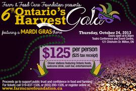 Ontarios Harvest Gala Invitation