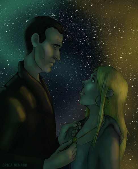 Doctor Who - Placing The Universe Around Her Neck