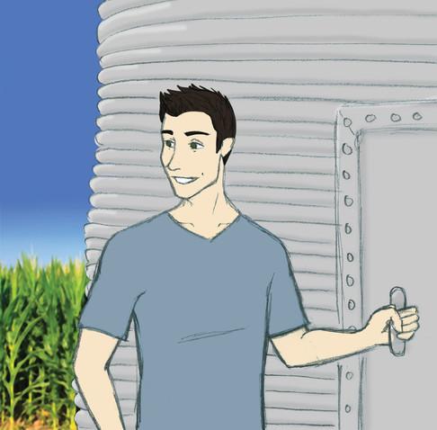 Jack Grain Bin