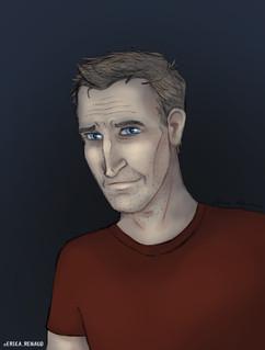 Portrait - Christopher Eccleston