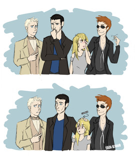 Good Omens Meets Doctor Who