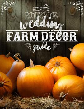 Cover for Wedding Farm Decor Guide