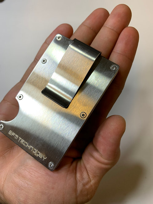 RFID Stainless Steel Silver