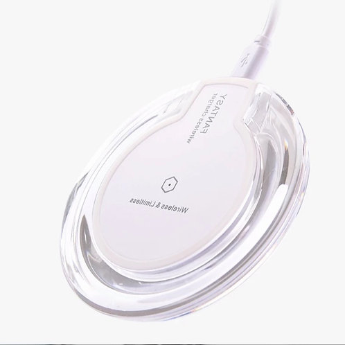 Wireless Disc Charger White
