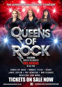 Queens of rock show