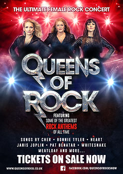 Queens of rock show