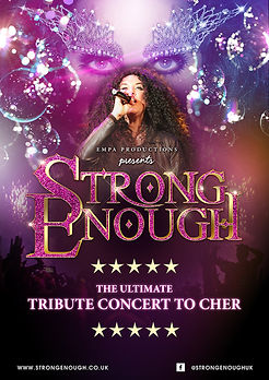 Strong Enough Cher tribute show