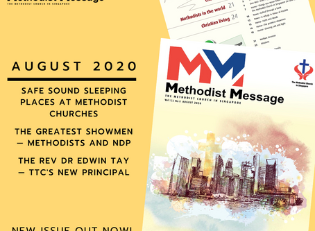 Methodist Message August is now Out!