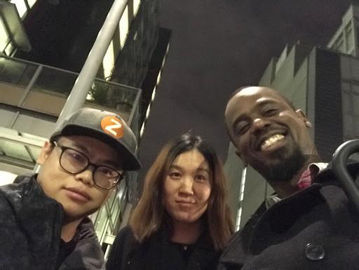 Hua Kang, Yu Zhang and Henry Burton: NEURIPS 2019, Vancouver, Canada