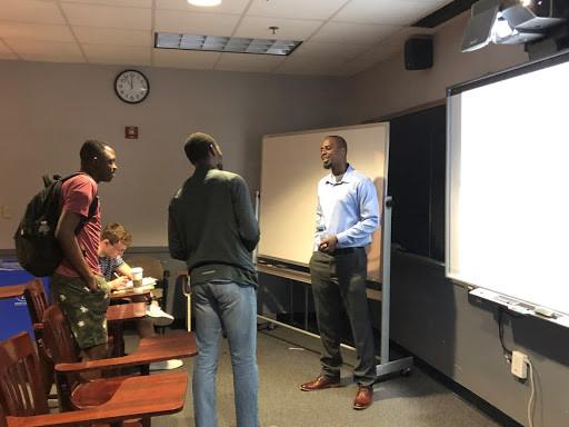 Henry Burton Presenting at University of Delaware Graduate Seminar