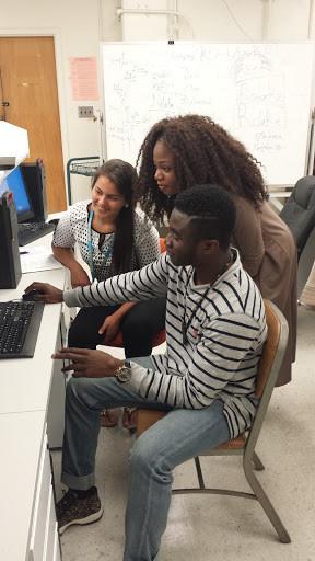 Morolake Omoya (UCLA), Kofi Afriyie (Morgan State) and Evely Macedo (Morgan State): UCLA CEED RISE-UP Program, Summer 2016